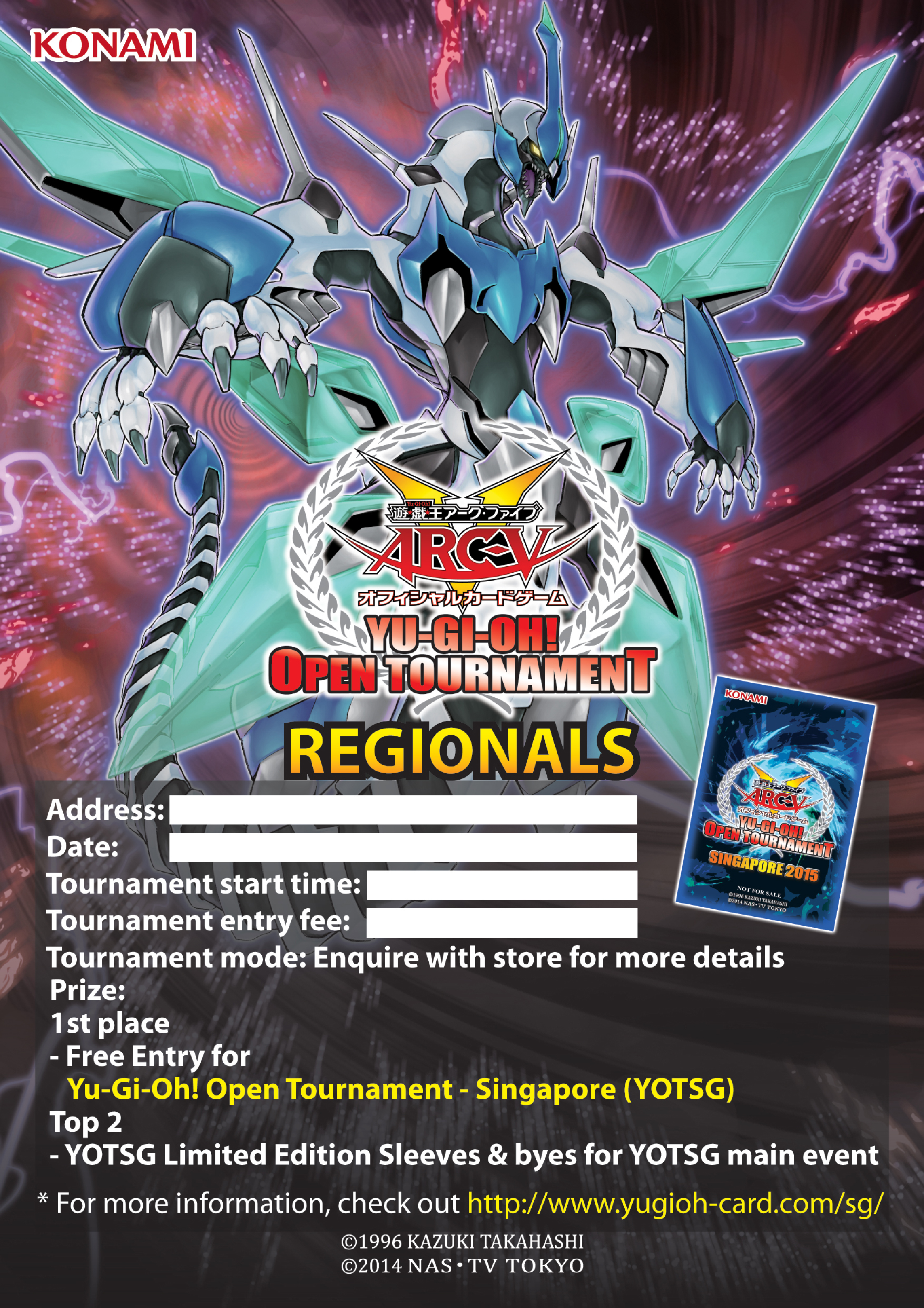 Yugioh tournaments prizes