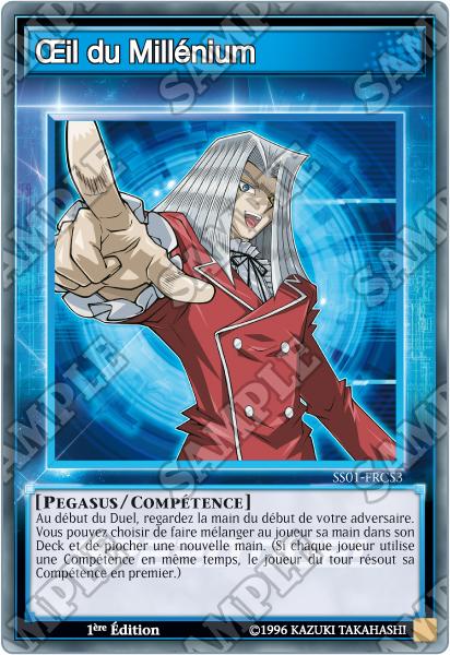 Partie 2 Pegasus Yu Gi Oh Trading Card Game