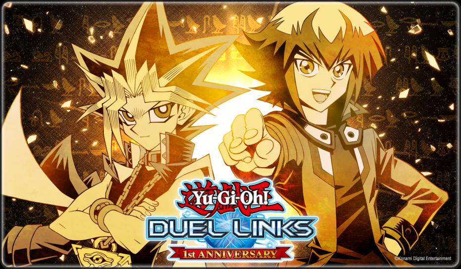 Yu-Gi-Oh! Duel Links Celebrates its One-Year Anniversary! | Yu-Gi-Oh