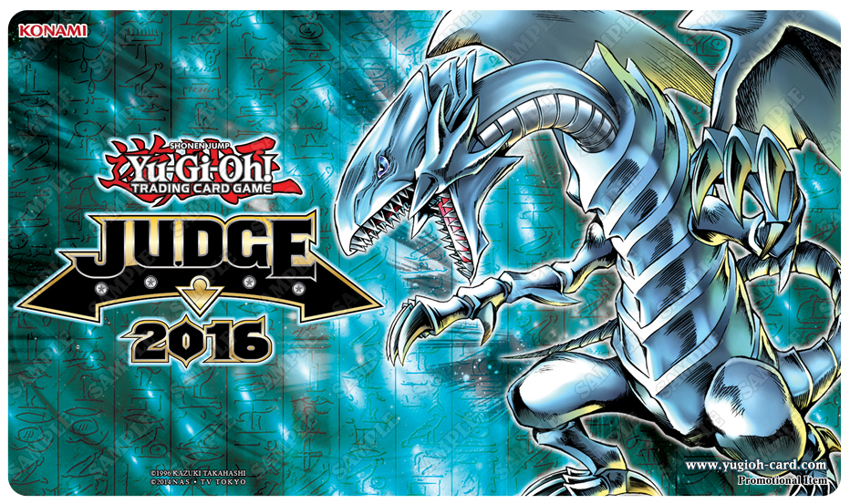 Introducing The European Judge Game Mat For 2016 Yu Gi